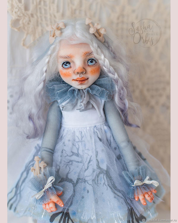 Авторская кукла Айрис -  Luna-Doll, Коллекционные куклы, Омск, Фото №1