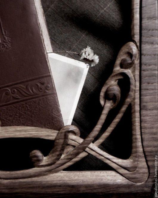 Зеркала ручной работы. Ярмарка Мастеров - ручная работа. Купить РАМКА, ДУБ. Handmade. Коричневый, дуб, завиток, винтаж, рама