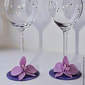 Свадебный салон handmade. Livemaster - original item Glasses wedding.. Handmade.