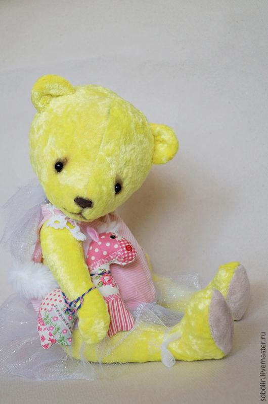 """Мишки Тедди ручной работы. Ярмарка Мастеров - ручная работа. Купить """"Cute friends"""" LI bear - Солнечный лучик. Handmade."""
