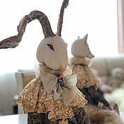 Куклы и пупсы ручной работы. Ярмарка Мастеров - ручная работа Кролик Эдвард. Handmade.