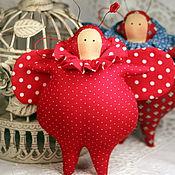 Куклы и игрушки ручной работы. Ярмарка Мастеров - ручная работа Тильда жучок энергичный. Handmade.