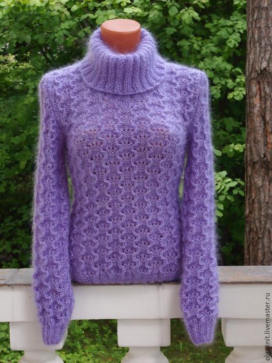 """Кофты и свитера ручной работы. Ярмарка Мастеров - ручная работа. Купить Шерстяной свитер """"Любимый"""". Handmade. Бежевый, свитер теплый"""
