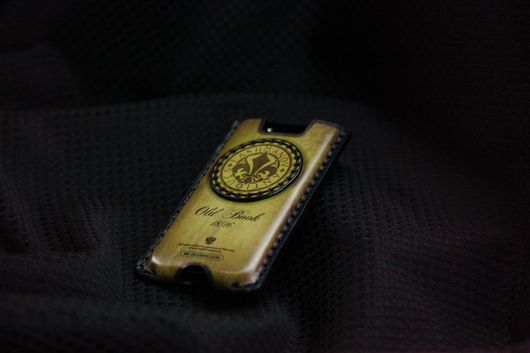 Для телефонов ручной работы. Ярмарка Мастеров - ручная работа. Купить Чехол карман для  iPhone 4/4s из Кожи Ручной работы № 27. Handmade.