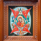 Картины и панно handmade. Livemaster - original item The burning Bush.The Icon Of The Virgin.. Handmade.