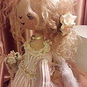 Интерьерная .Текстильная кукла.