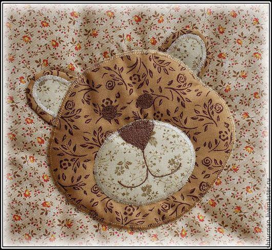 """Пледы и одеяла ручной работы. Ярмарка Мастеров - ручная работа. Купить Лоскутное одеяло """"Медвежата"""". Handmade. Бежевый, одеяло лоскутное"""