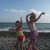 Работы для детей, ручной работы. Ярмарка Мастеров - ручная работа купальники для девочек. Handmade.