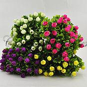 Материалы для творчества handmade. Livemaster - original item Artificial greens with flowers, CV84. Handmade.