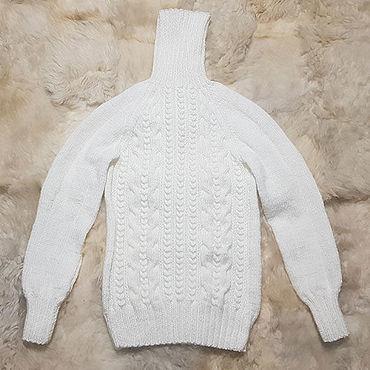 Clothing handmade. Livemaster - original item Sweater hand knitted. Handmade.