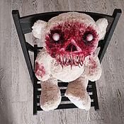 Куклы и пупсы ручной работы. Ярмарка Мастеров - ручная работа Зомби-мишка ООАК (ПОВТОРА НЕ БУДЕТ!). Handmade.