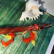Музыкальные инструменты ручной работы. Ярмарка Мастеров - ручная работа Посох дождя ( Rainstick) (коричневый 50-55 см). Handmade.