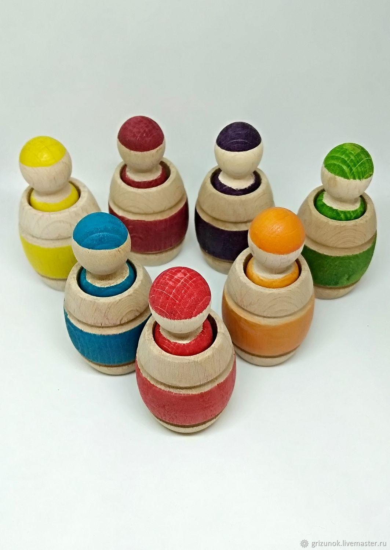 Playsets: Semicvetik: first shape sorter for toddlers, Play sets, Zheleznodorozhny,  Фото №1