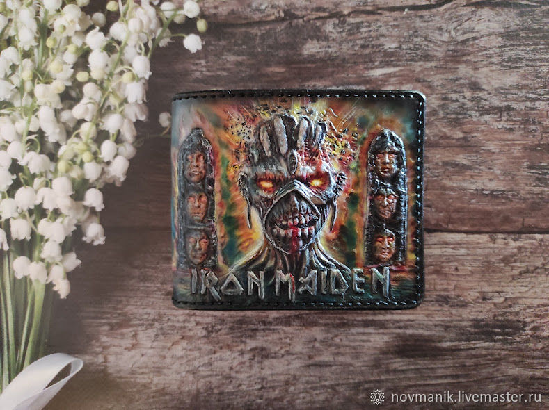 Портмоне (кошелек, бумажник) двойного сложения (Bi-fold wallet) № 53, Кошельки, Ковров,  Фото №1