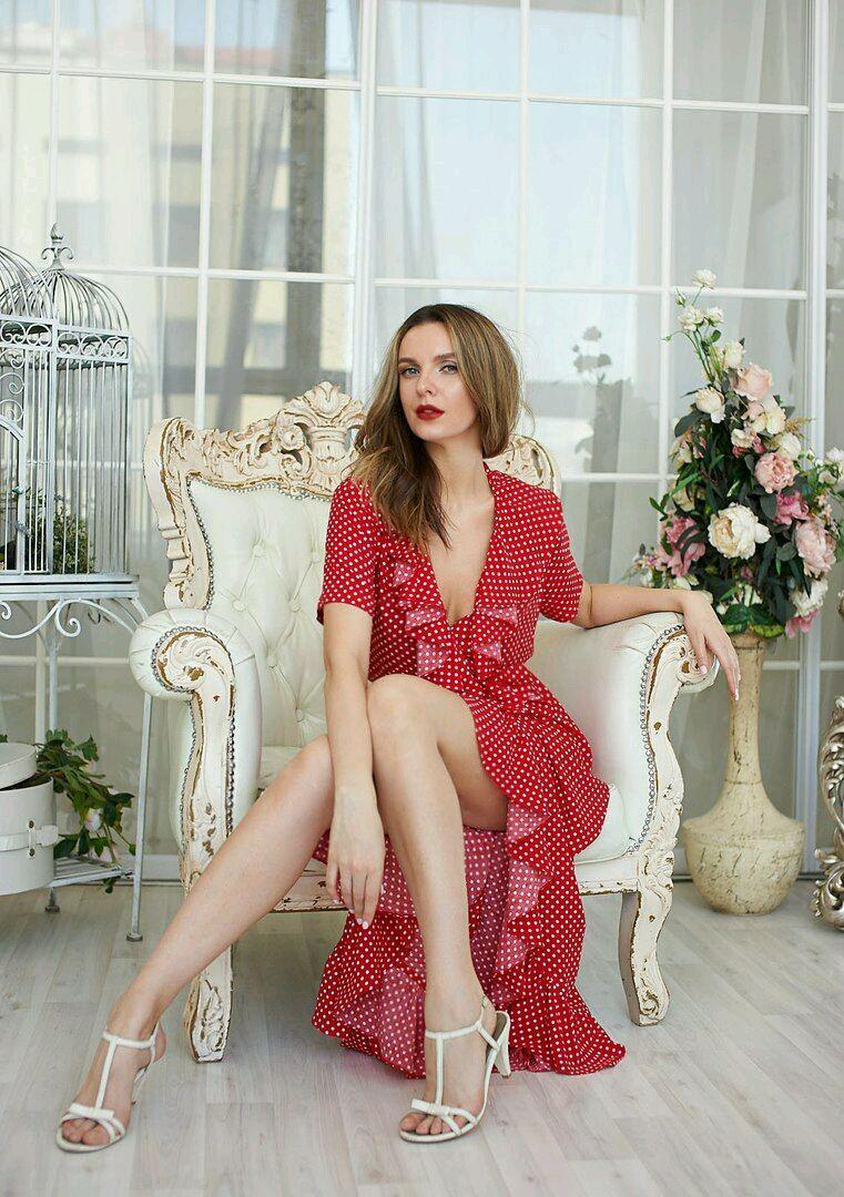 Polka dot robe dress', Dresses, Moscow,  Фото №1