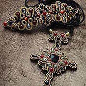 Украшения handmade. Livemaster - original item Soutache set of