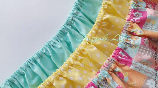 """Текстиль, ковры ручной работы. Ярмарка Мастеров - ручная работа. Купить Комплект натяжных простыней в кроватку """"Монпасье"""". Handmade."""