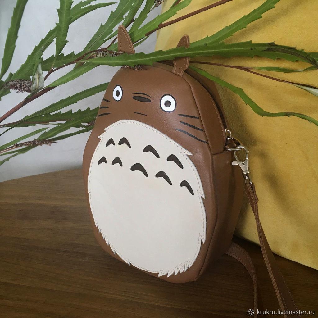 Сумочка из кожи или экокожи Тоторо детская сумка, Классическая сумка, Москва,  Фото №1