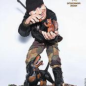"""Куклы и игрушки ручной работы. Ярмарка Мастеров - ручная работа Авторская кукла """"Не охота!"""". Handmade."""