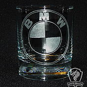 Посуда handmade. Livemaster - original item BMW.  Highball glasses. Handmade.