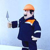 Куклы и игрушки ручной работы. Ярмарка Мастеров - ручная работа Строитель. Handmade.