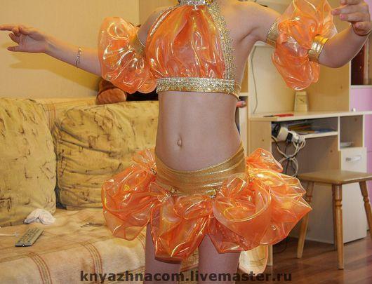 """Танцевальные костюмы ручной работы. Ярмарка Мастеров - ручная работа. Купить Восточный танец-""""Кукла"""" (Костюм-трансформер). Handmade. органза"""