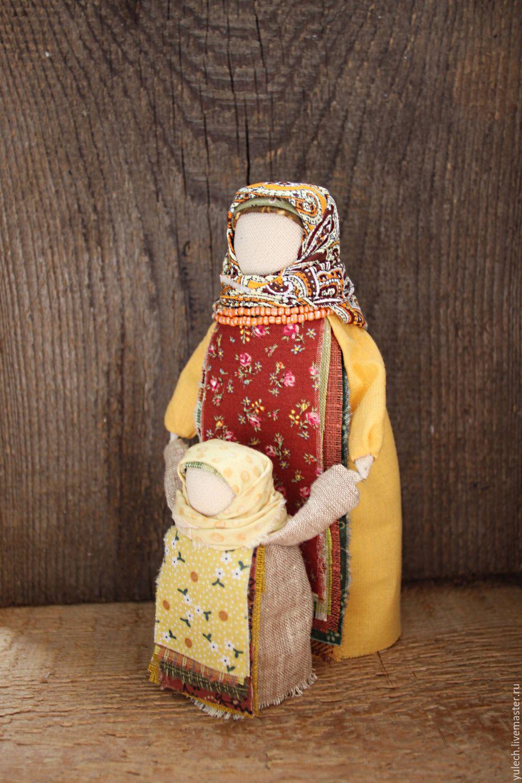 """Народная русская куколка-ведучка """"Мама-солнце"""", Народная кукла, Москва,  Фото №1"""