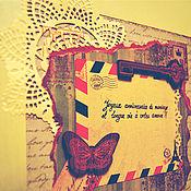 Открытки ручной работы. Ярмарка Мастеров - ручная работа открытка ручной работы С Годовщиной Свадьбы. Handmade.