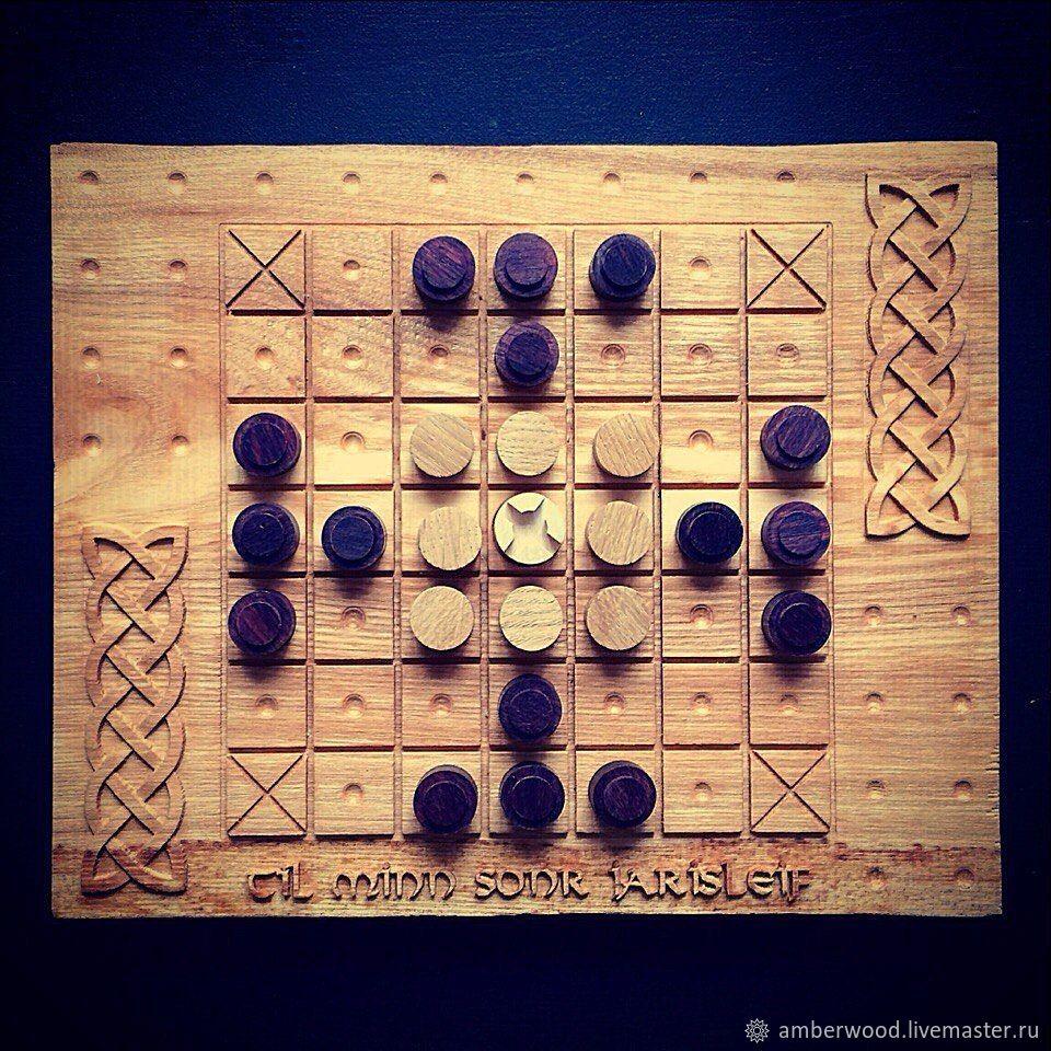 Viking chess. Hnefatafl, Chess, Kaliningrad,  Фото №1