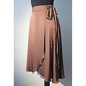 Одежда handmade. Livemaster - original item Silk skirt for the smell. Midi or Maxi.. Handmade.