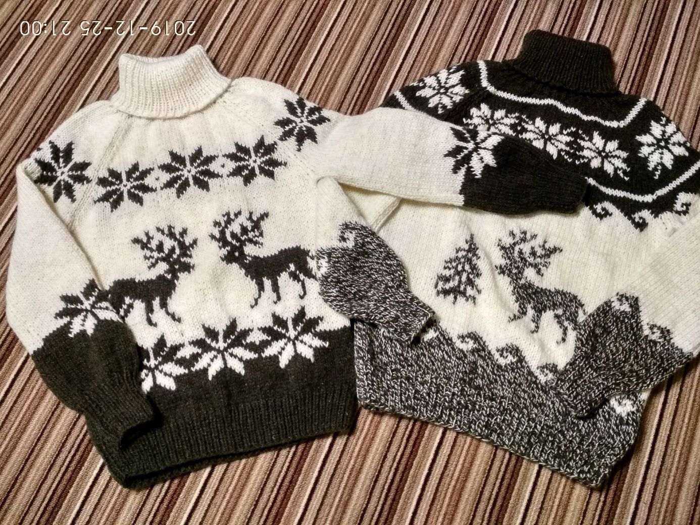 The reindeer sweater from sheep wool, Sweaters, Nalchik,  Фото №1