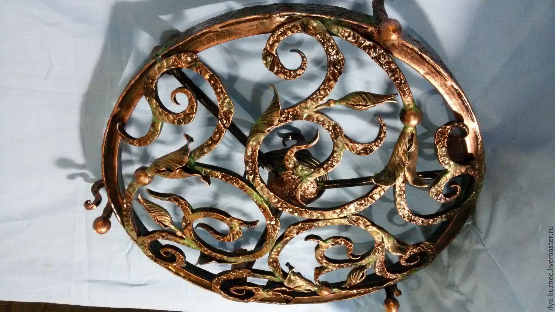 давид имеет кованые абажуры фото сделан исключительно основе