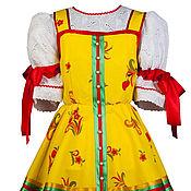 Одежда ручной работы. Ярмарка Мастеров - ручная работа Русский народный  костюм  Ника. Handmade.