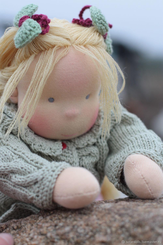 Вальдорфская кукла Кайса 36 см, Вальдорфские куклы и звери, Москва,  Фото №1