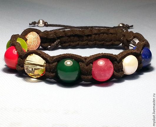 Браслеты ручной работы. Ярмарка Мастеров - ручная работа. Купить Гармонизирующий браслет Наваратна (Наваграха). Handmade. Комбинированный, браслет наваграха
