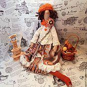 Куклы и игрушки ручной работы. Ярмарка Мастеров - ручная работа Бохо тильда Берта. Handmade.