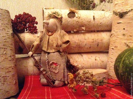 Народные куклы ручной работы. Ярмарка Мастеров - ручная работа. Купить Баба Яга. Добрая. Сказочная.. Handmade. Оливковый