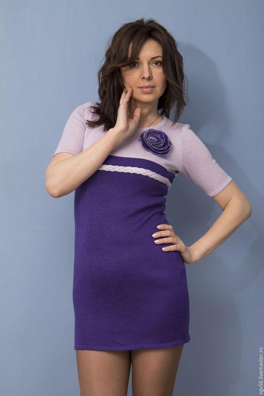 """Платья ручной работы. Ярмарка Мастеров - ручная работа. Купить Платье     """"Сиреневый рай"""". Handmade. Фиолетовый, сиреневый цвет"""