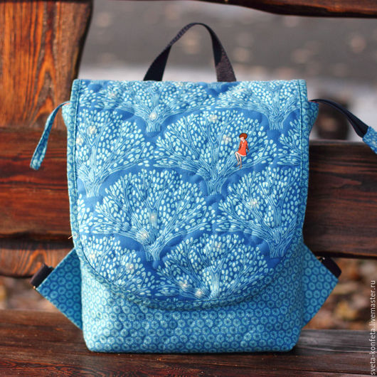 Рюкзачок-сумка Жемчужный лес