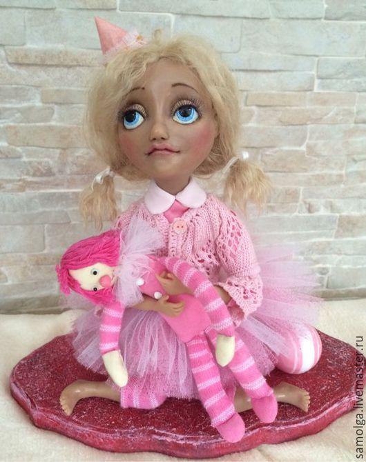 Коллекционные куклы ручной работы. Ярмарка Мастеров - ручная работа. Купить Арина Размер 26смх29см. Handmade. Авторская ручная работа