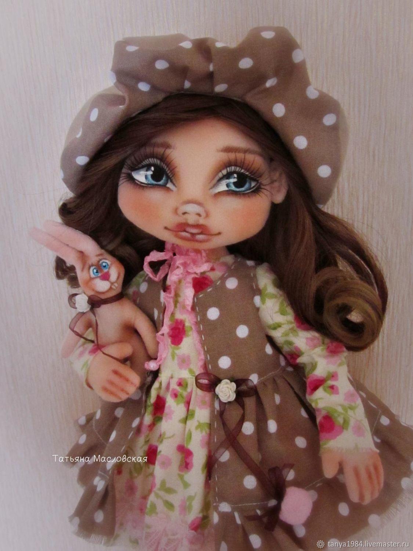 """""""Маленькая Николь"""" текстильная кукла, Чердачная кукла, Несвиж,  Фото №1"""
