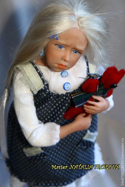 """Коллекционные куклы ручной работы. Ярмарка Мастеров - ручная работа. Купить """"Я жадина"""". Handmade. Разноцветный, коллекцеонная кукла"""