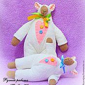 Куклы и игрушки ручной работы. Ярмарка Мастеров - ручная работа Тильда барашек. Handmade.