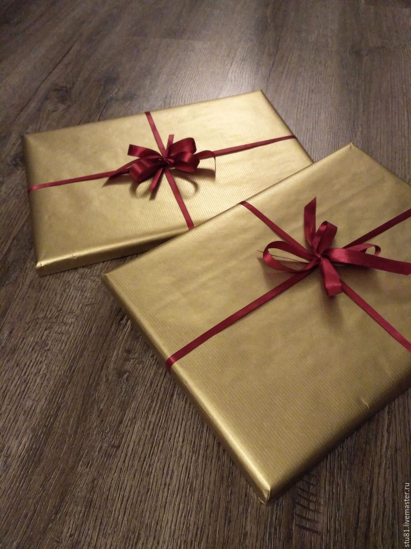 Упаковка картин в подарок