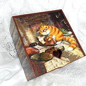 Для дома и интерьера handmade. Livemaster - original item Box For Shoe Polish). Handmade.