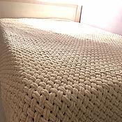 Пледы ручной работы. Ярмарка Мастеров - ручная работа Плед - покрывало на кроват / диван. Handmade.