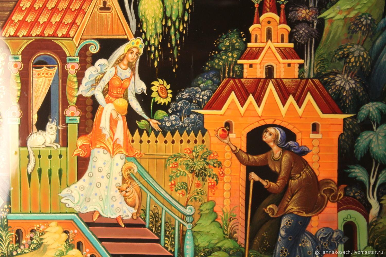 Картинки о сказка семи богатырях