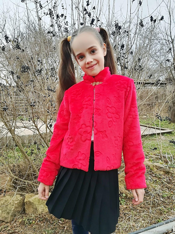 The faux-fur jacket, Jackets, Aleksandrovskoe,  Фото №1