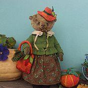 """Куклы и игрушки ручной работы. Ярмарка Мастеров - ручная работа Мишка Тедди """"Здравствуйте я ваша Тетя"""". Handmade."""