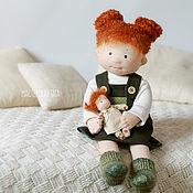 Куклы и игрушки ручной работы. Ярмарка Мастеров - ручная работа Текстильная кукла Татошка. Handmade.